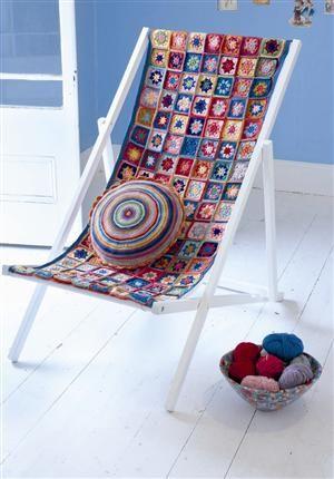 chaise longue crochet